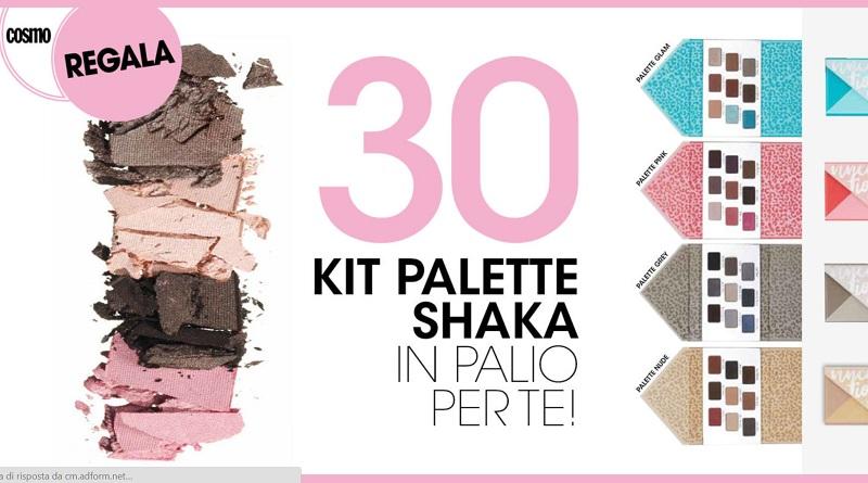 Concorso a premi Cosmopolitan, vinci kit palette Shaka