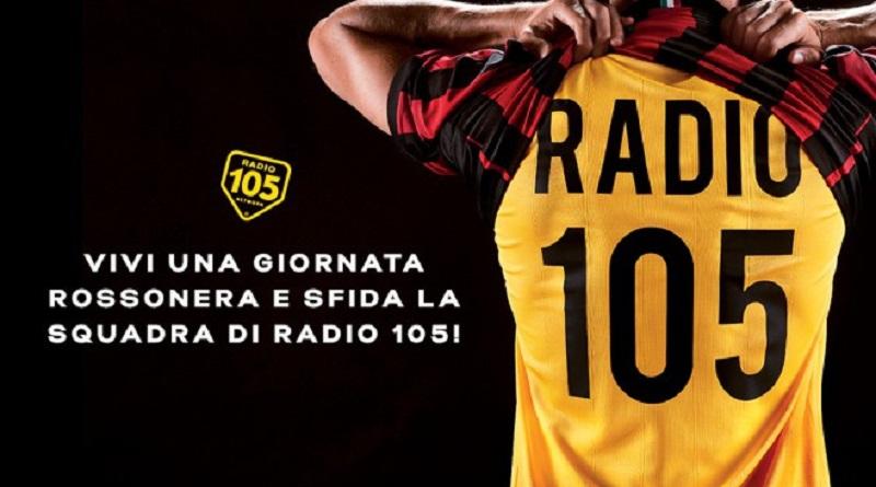 Concorso a premi Radio 105 vinci giornata rossonera