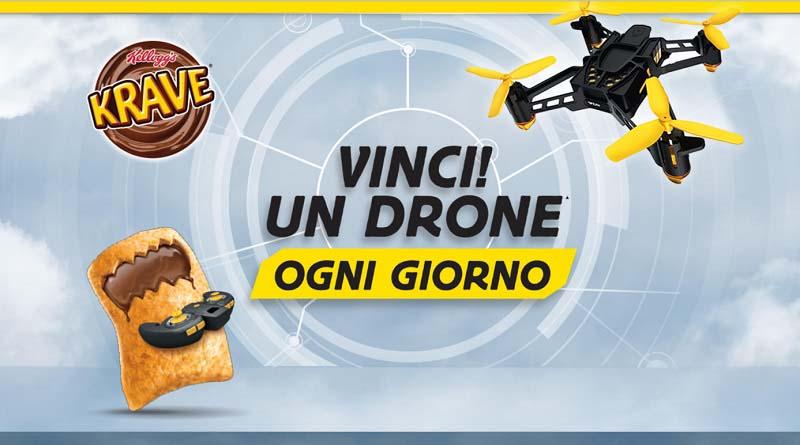 Concorso Kellogg's vinci un drone ogni giorno