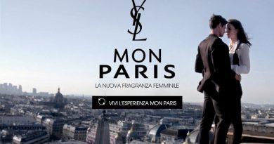 Campione omaggio profumo Yves Saint Laurent Mon Paris