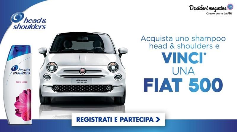 Concorso a premi Desideri Magazine vinci Fiat 500
