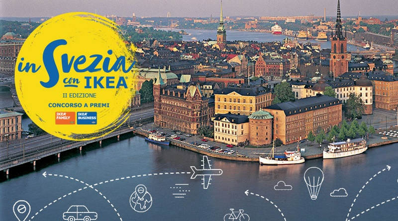 Concorso a premi In Svezia con Ikea