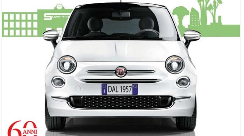 Concorso Esselunga 60 anni vinci 1500 Fiat 500
