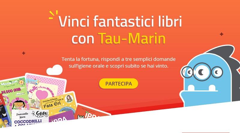 Vinci fantastici libri con Tau-Marin