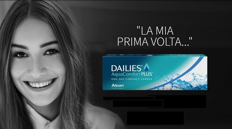 Campione gratis lenti a contatto Focus Dailies Aqua Comfort Plus