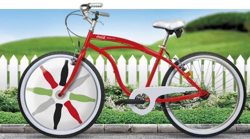 Partecipa al concorso e vinci una bicicletta Coca Cola