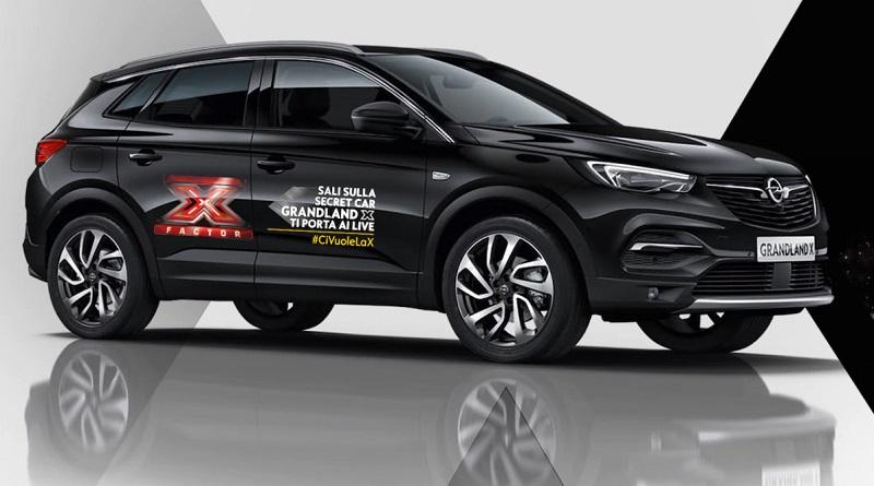 Concorso Opel Grandland X ti porta a X Factor