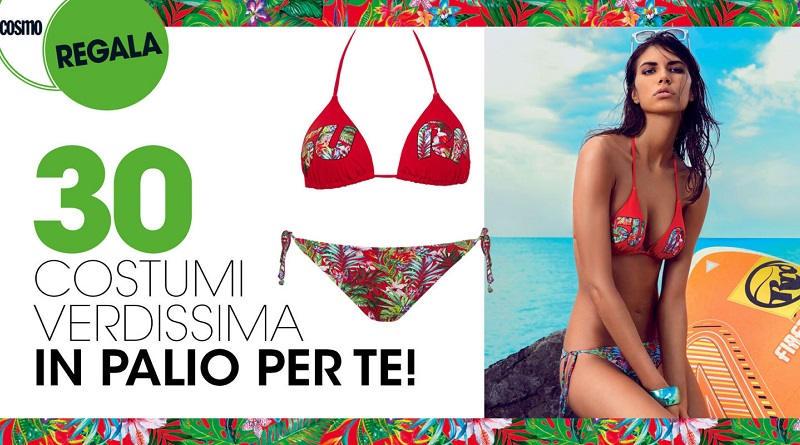 Concorso a premi Cosmopolitan vinci bikini Verdissima