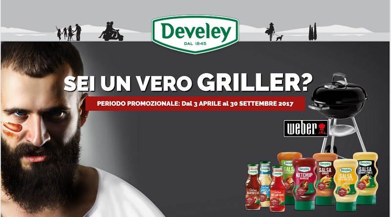 Concorso Develey, sei un vero griller?