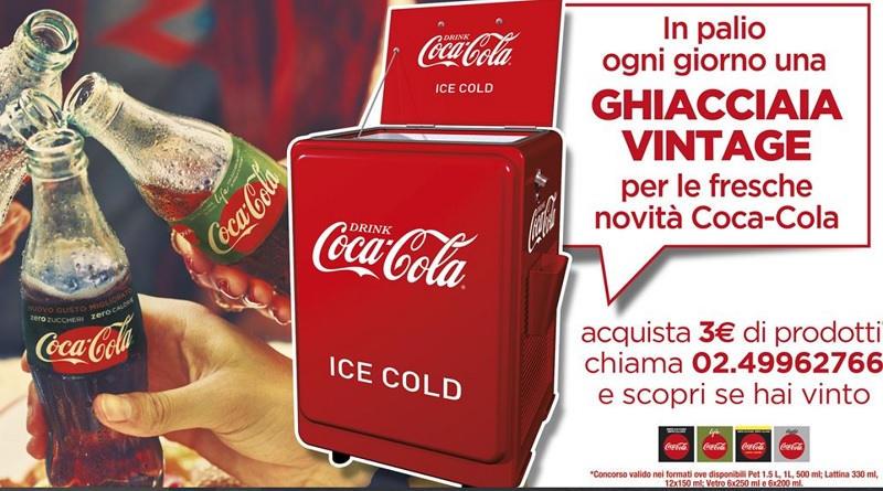 Concorso Coca Cola vinci una Ghiacciaia