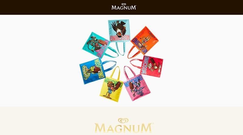 Concorso Magnum e Moschino vinci una borsa
