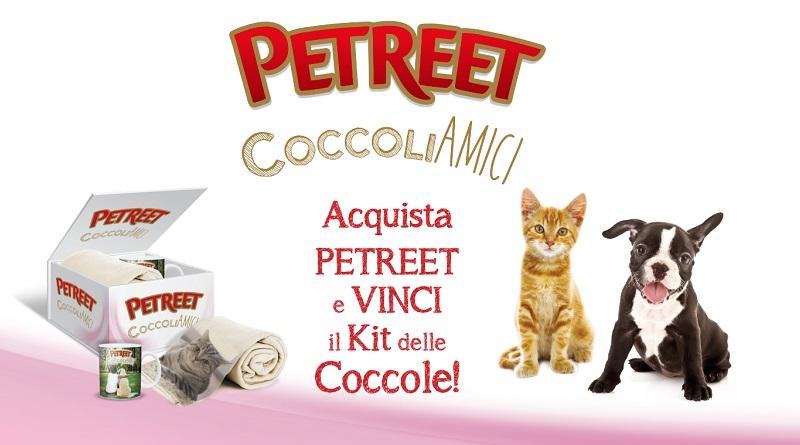 Acquista Petreet e vinci il kit delle coccole