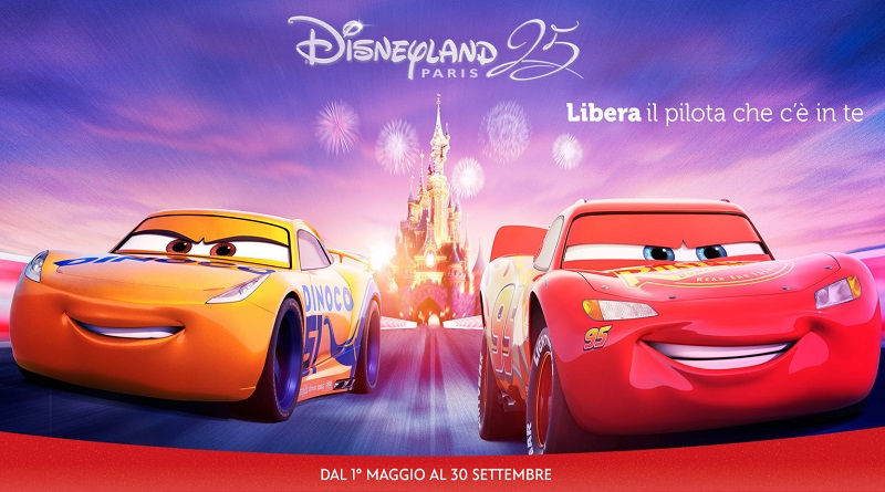 Vinci Disneyland Paris con Disney e Cars