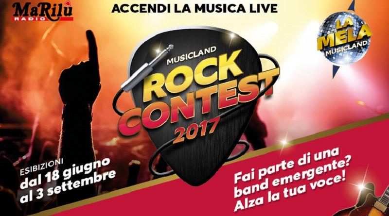 Concorso a premi Musicland rock contest 2017