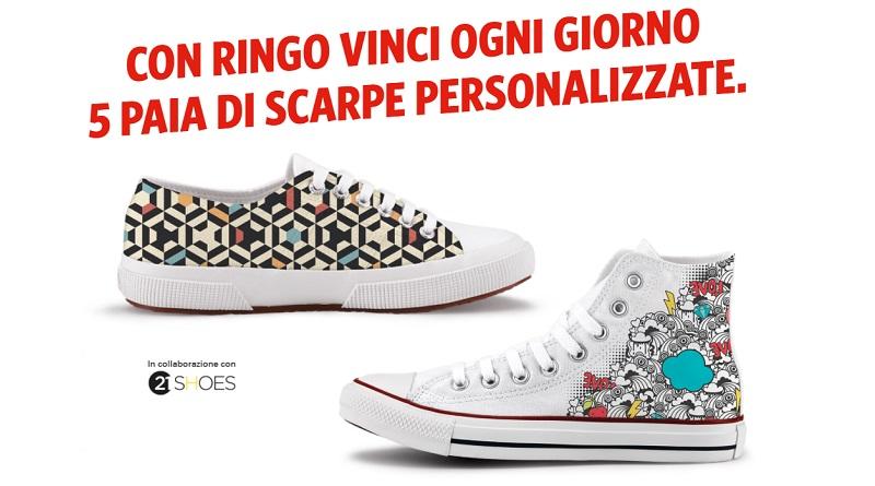 Concorso Ringo, vinci scarpe personalizzate