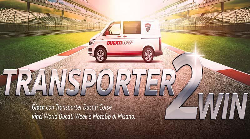 Concorso a premi Volkswagen Transporter2win