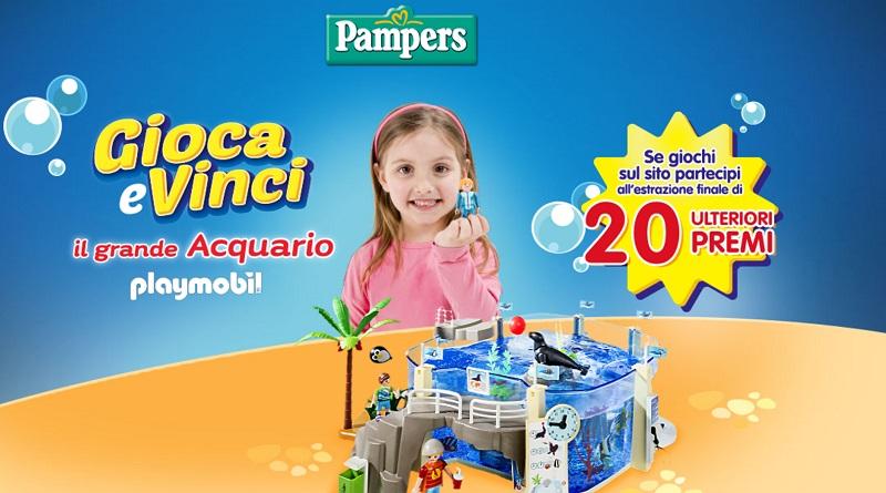 Concorso a premi Pampers, vinci l'acquario Playmobil