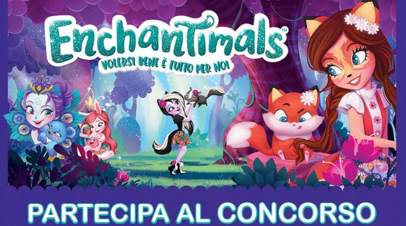 Concorso a premi Colleziona e vinci Enchantimals