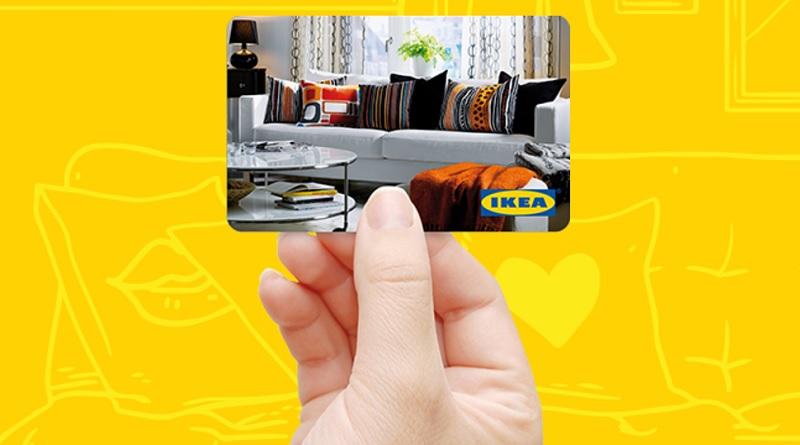 Concorso Profumo di casa, vinci ogni giorno carta regalo Ikea da 100 euro