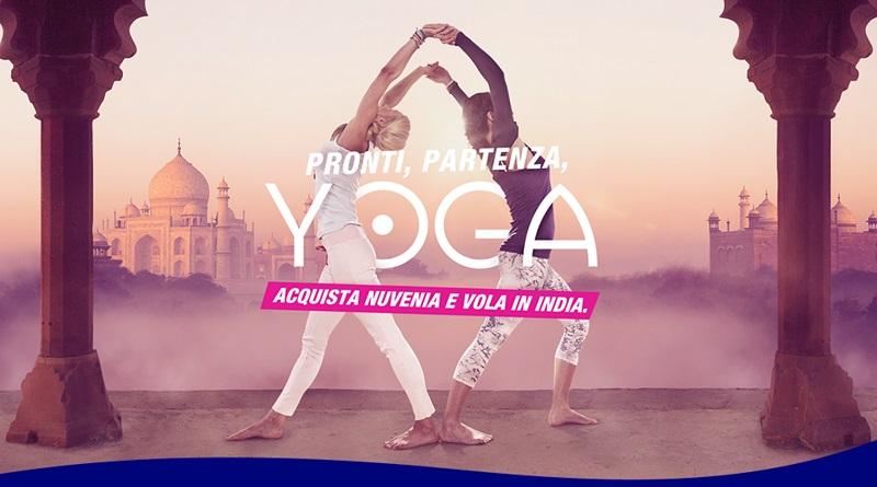 Concorso Nuvenia, pronti, partenza, yoga