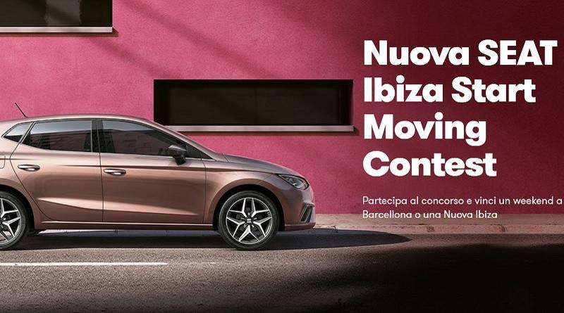 Concorso Nuova Seat Ibiza Start Moving