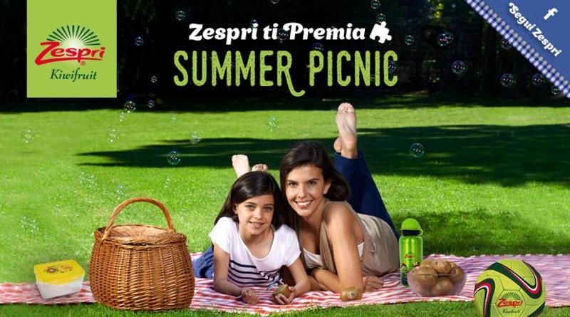 Concorso a premi Zespri Summer Picnic