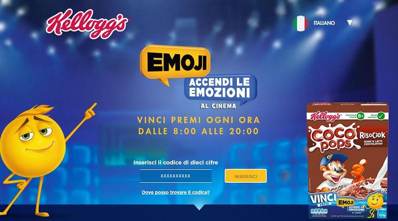 Concorso a premi Kellogg's Emoji Accendi Le Emozioni