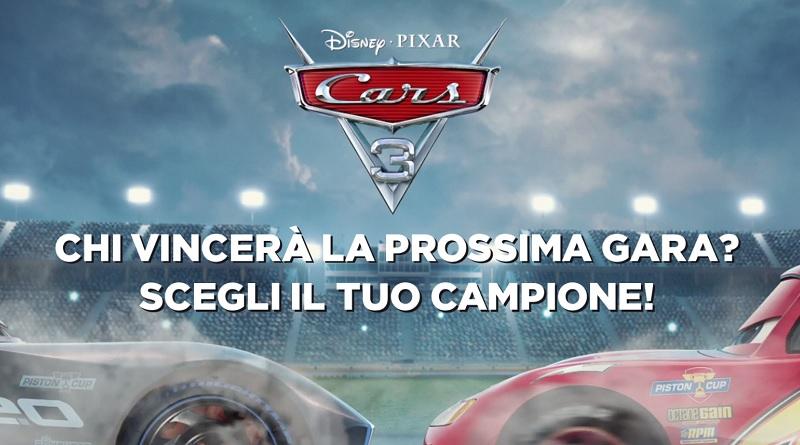 Concorso a premi UCI Cinemas e Cars 3