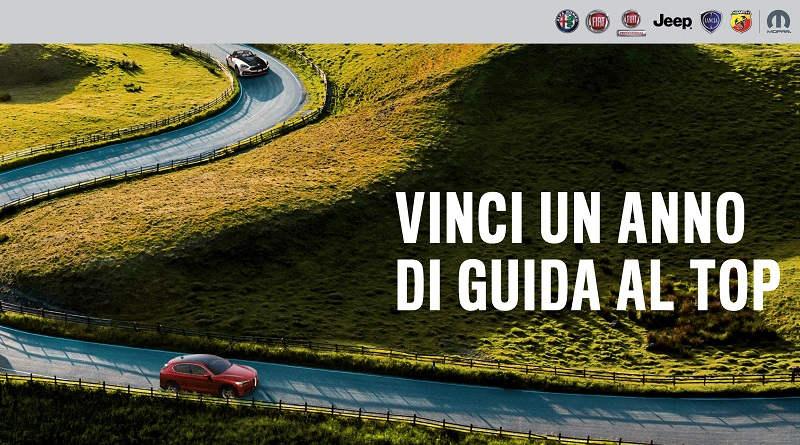 Concorso Fiat FCA, vinci un anno di guida al top