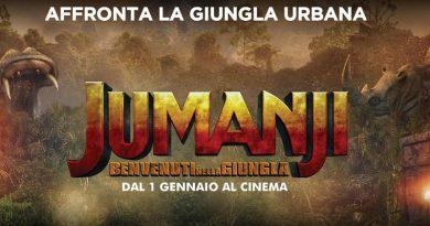 Concorso Jumanji, sfida la giungla urbana