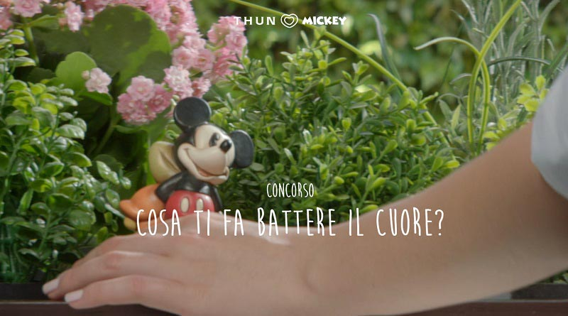 Concorso Thun Loves Mickey