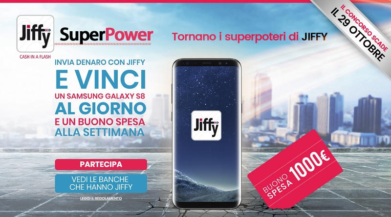 Concorso a premi Jiffy Super Power