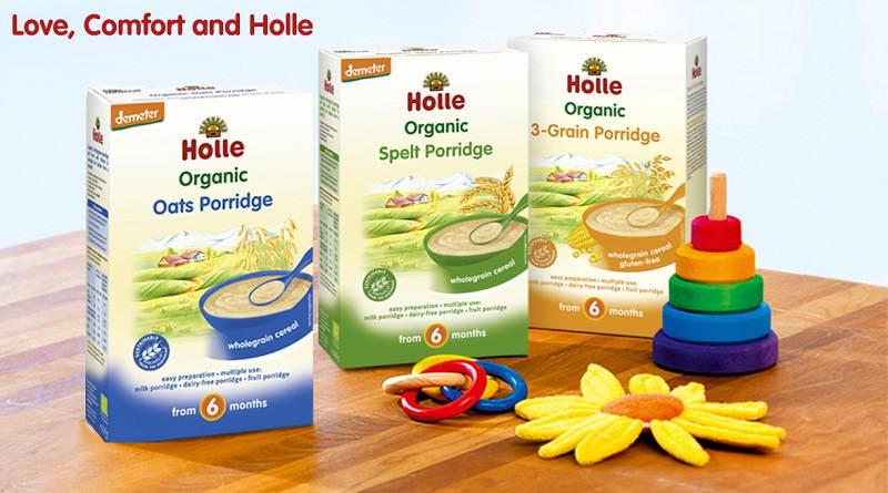 Campioni omaggio prodotti per bambini Holle