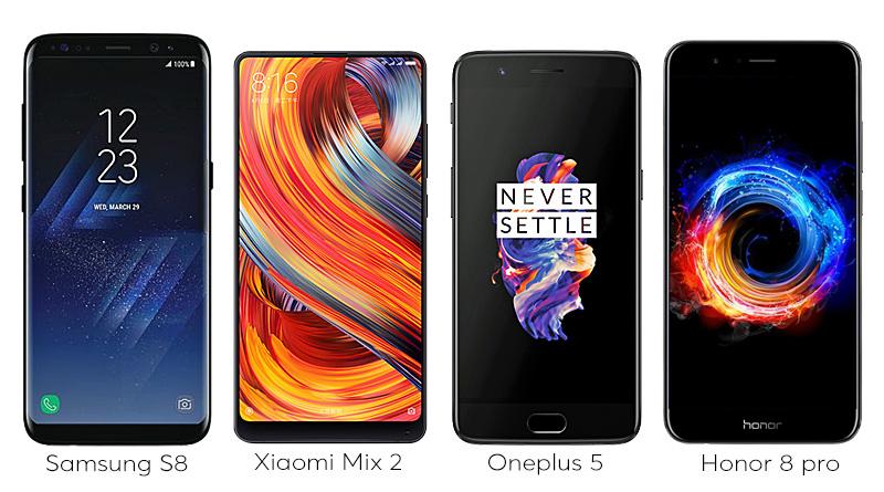 I migliori smartphone da comprare nel 2017