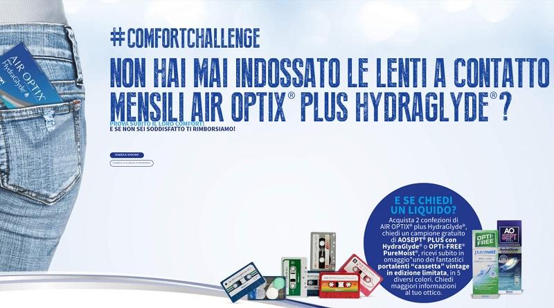 Campioni gratis lenti a contatto Air Optix Hydraglide