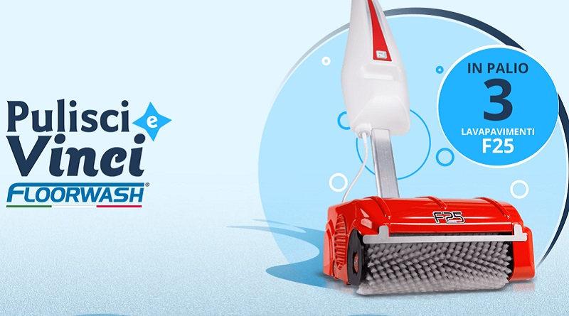 Concorso a premi Pulisci e vinci con Floorwash