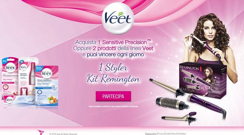 Concorso a premi Veet Let's Style