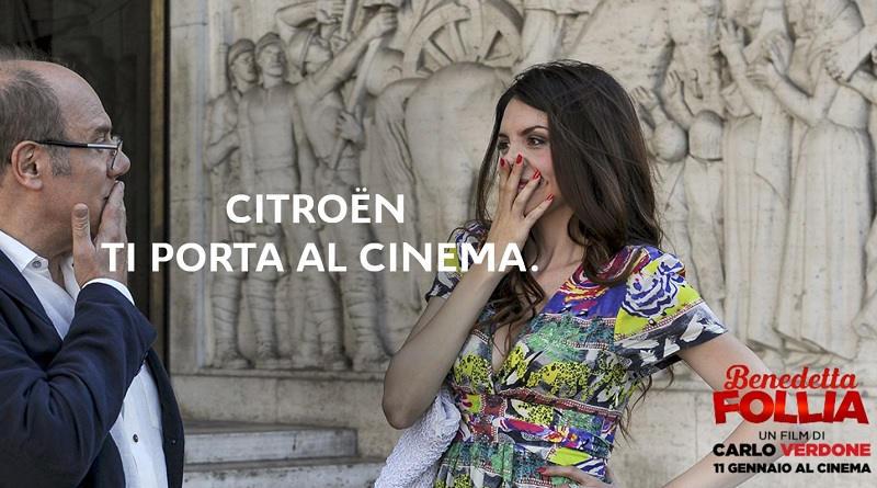 Concorso Citroen ti porta al cinema