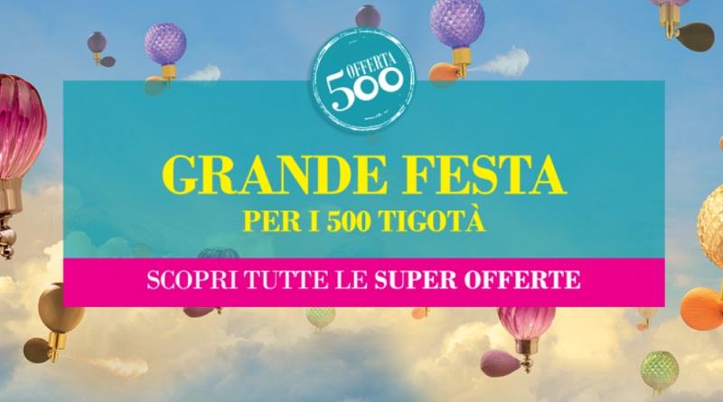 Concorso Grande festa per i 500 Tigotà