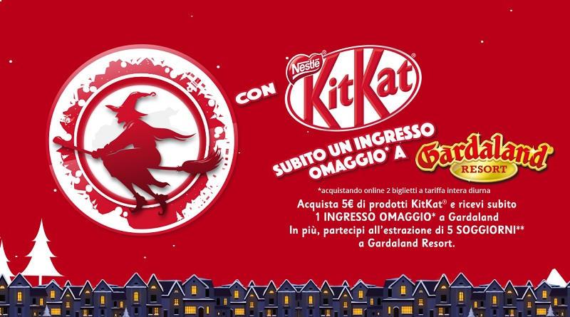 Concorso La befana Kitkat ti porta a Gardaland