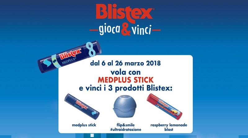 Concorso Blistex Gioca e vinci