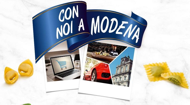 Concorso a premi Fini Con noi a Modena