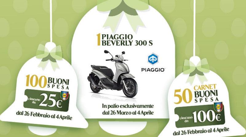 Concorso Lidl Pasqua 2018, vinci scooter Piaggio