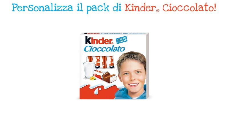 Concorso Kinder Cioccolato Fotogame