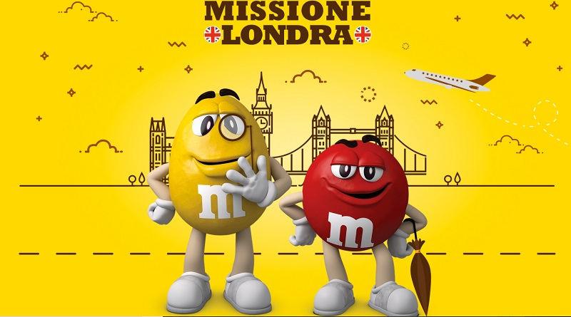 Concorso M&M's missione Londra