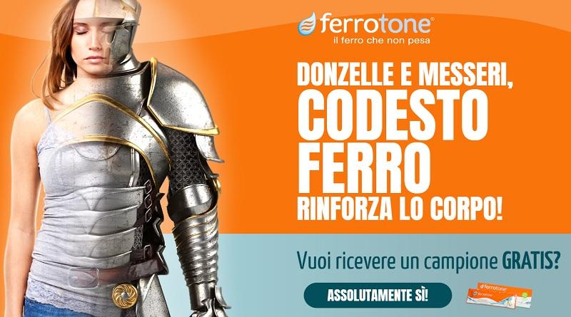 Campione omaggio Ferrotone