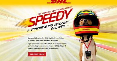 Concorso DHL Speedy