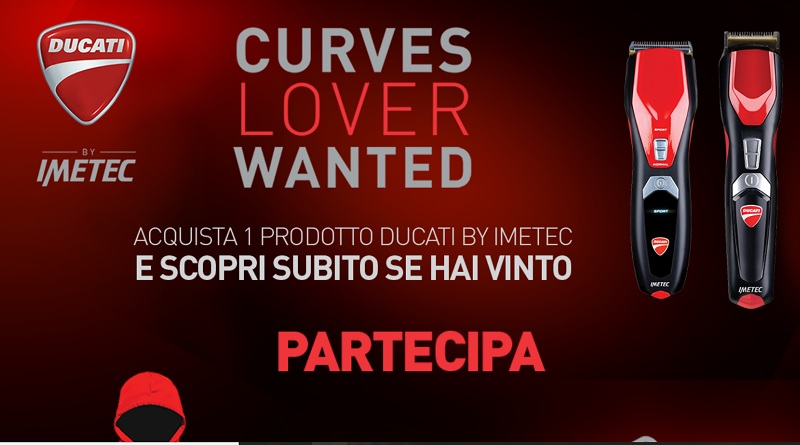 Concorso Ducati Curves Lover Wanted