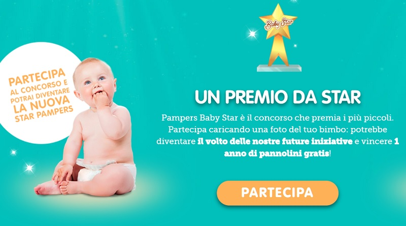 Concorso Pampers baby star