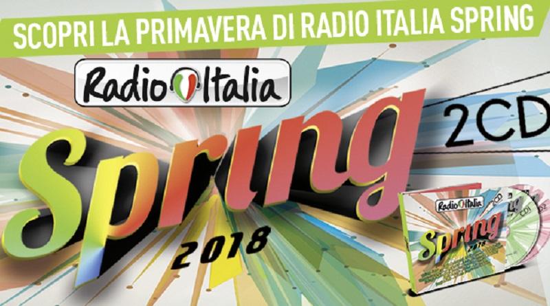 Concorso Radio Italia, vinci Spring Compilation 2018